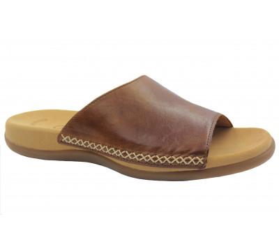 Сабо Gabor коричневые кожаные 63705.24