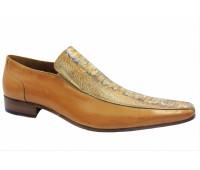 Летние туфли ALBA кожаные бежевые