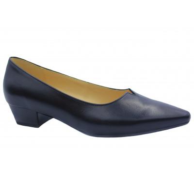Туфли Gabor кожаные черные 25130