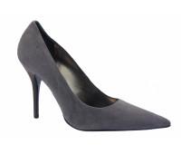 Модельные туфли Hogl замшевые серые