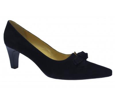 Модельные туфли Peter Kaiser замшевые черные 67829-240