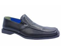 Демисезонные туфли ALBA кожаные черные