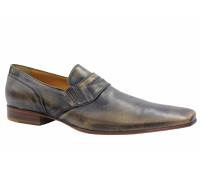 Летние туфли ALBA кожаные светло-коричневые