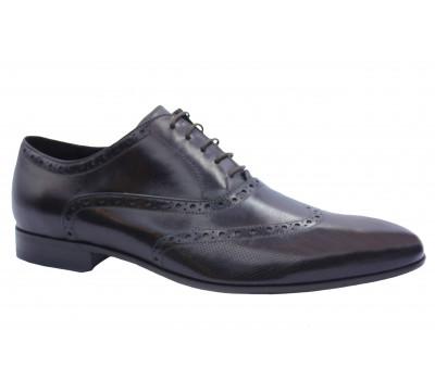 Туфли ROMIT кожаные бордовые 12787