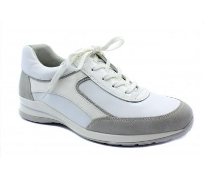 Кроссовки Gabor белые кожаные 42575