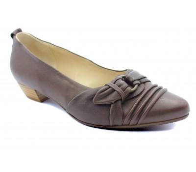 Балетки Hogl кожаные коричневые 3-102520