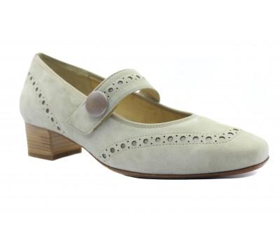 Туфли Hassia серые замшевые 3-303362