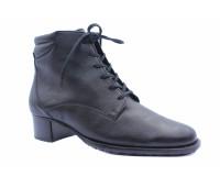 Демисезонные ботинки Hassia из наппы черные
