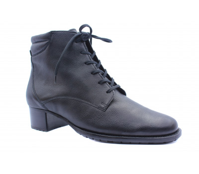 Демисезонные  ботинки Hassia из наппы черные 0-306691
