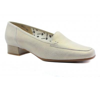 Туфли   Ombelle серые кожаные 39517-009
