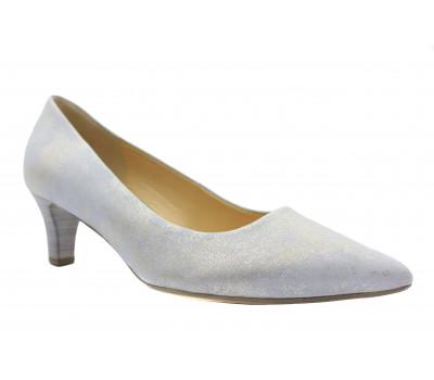 Туфли Gabor светло-серые из крека 41250.61