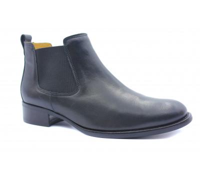 Ботильоны Gabor кожаные черные 51640