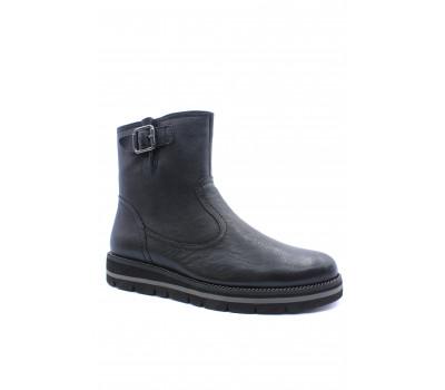 Демисезонные полусапоги Gabor кожаные черные 52571