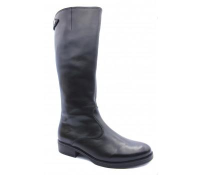Демисезонные сапоги Gabor кожаные черные 52797