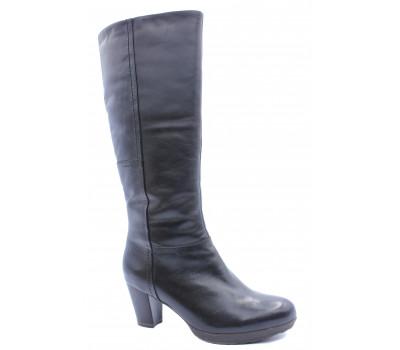 Зимние сапоги Tamaris кожаные черные 26538-21