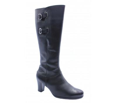 Зимние сапоги Gabor кожаные черные 76599