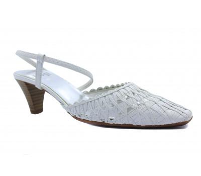 Босоножки Hogl кожаные белые 5-105190