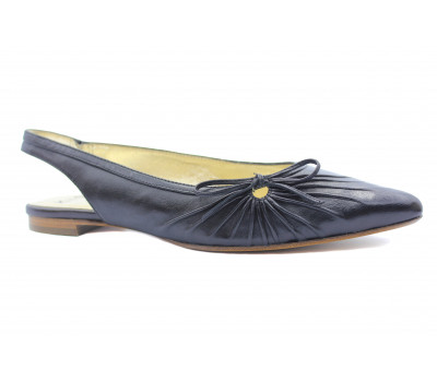Босоножки K&S кожаные черные 17370-120