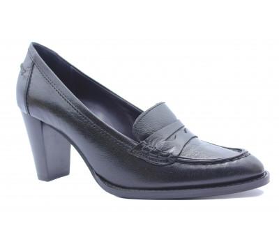 Туфли осенние Hogl кожаные черные 8-107510