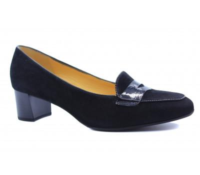Туфли Peter Kaiser замшевые черные 51823-735