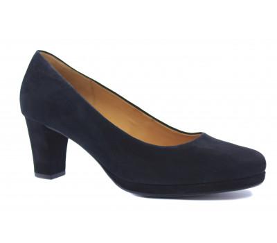 Модельные туфли Gabor замшевые черные 02190