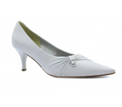 Модельные туфли Gabor кожаные белые 05203