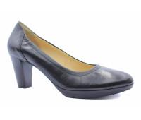 Демисезонные туфли  Hogl кожаные черные
