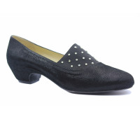 Туфли Tuffoni из крека черные