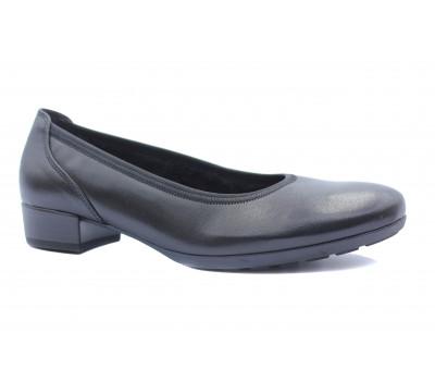 Демисезонные туфли Gabor кожаные черные 36070