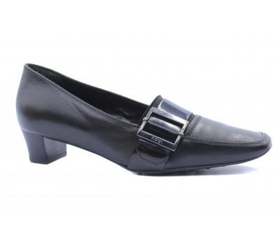 Туфли Hogl кожаные черные 6-103310