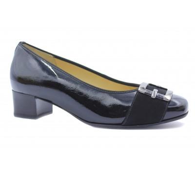 Модельные туфли Hassia из лакированной кожи черные 4-303304
