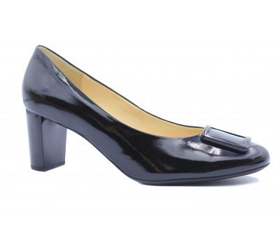 Модельные туфли Hogl из лакированной кожи черные 9-105043