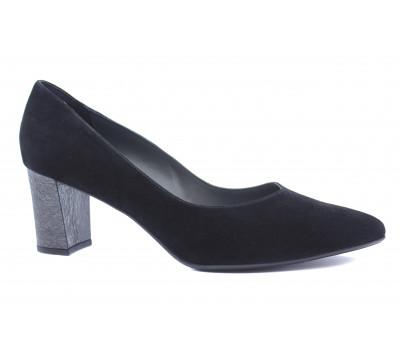 Модельные туфли Peter Kaiser черные замшевые 67211-931