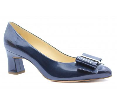 Модельные туфли Peter Kaiser из лакированной кожи синий перламутр 43173-003