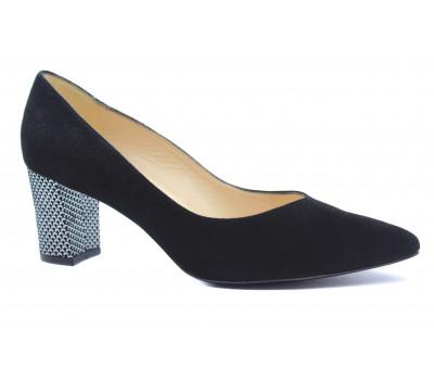 Модельные туфли Peter Kaiser черные замшевые 67711-838