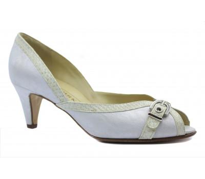 Туфли Peter Kaiser кожаные серые 95547-624