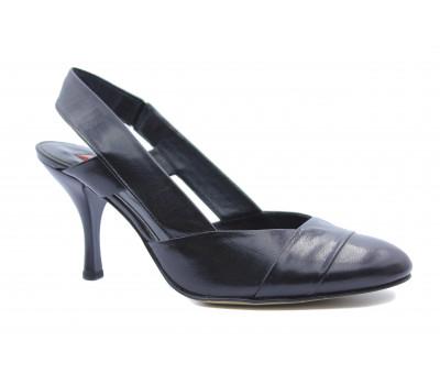 Босоножки Hogl кожаные черные 9-107730