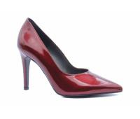 Модельные туфли Peter Kaiser из лакированной кожи бордовые