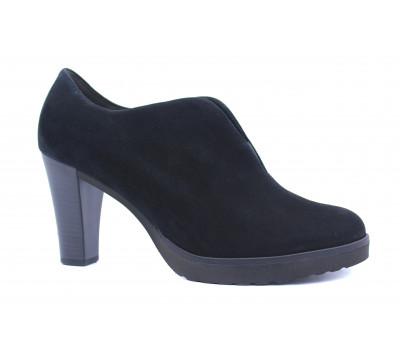 Туфли Gabor замшевые черные 51222