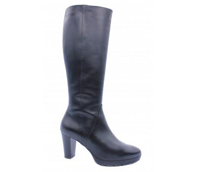 Сапоги осенние Hogl кожаные черные 0-106440