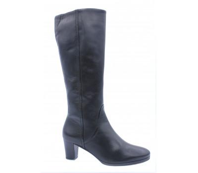 Демисезонные сапоги Gabor кожаные черные 96596