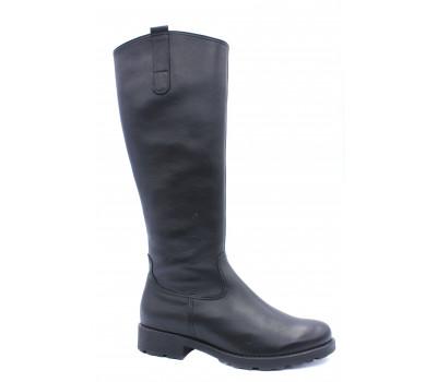 Демисезонные сапоги Gabor кожаные черные 93727