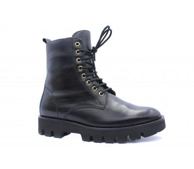 Ботинки Hogl кожаные черные 4-102613