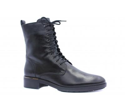 Ботинки Hogl кожаные черные 4-100613
