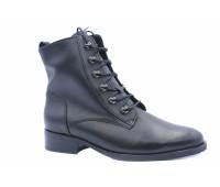 Демисезонные ботинки Gabor кожаные черные
