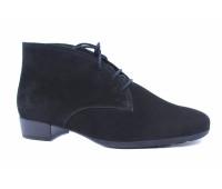 Демисезонные ботинки Gabor из нубука черные