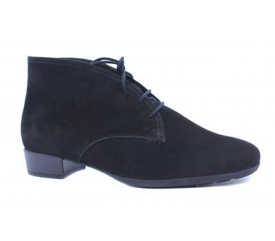 Ботинки Gabor из нубука черные 32715