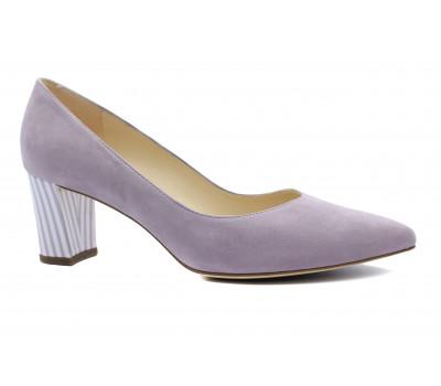 Модельные туфли Peter Kaiser замшевые светло-сиреневые 67111-469