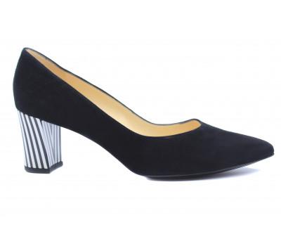 Модельные туфли Peter Kaiser замшевые черные 67111-713