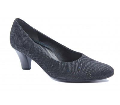 Модельные туфли Gabor замшевые черные 56170-67